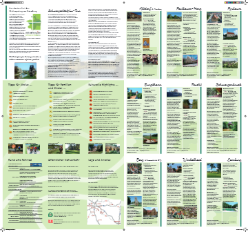 Freizeitkarte Schwarzachtalplus (2. Auflage)