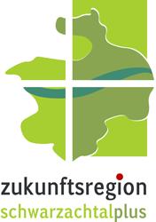 """Logo der kommunalen Allianz """"Schwarzachtalplus""""."""
